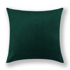 Sierkussen Velvet Dark Groen 45x45cm