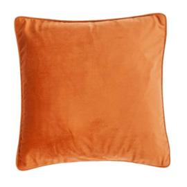 Sierkussen Microvelvet Peach Oranje 45x45cm