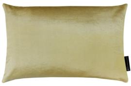 Sierkussen Velours Yellow Gold Goudgeel 60x40cm