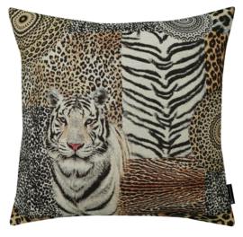 Sierkussen African Tiger Large Gobelin Multikleur 60x60cm