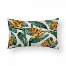 Sierkussen Jungle Mang Long Groen/Goud 30x50cm