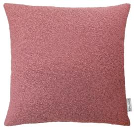 Sierkussen Boucle Berry Roze 50x50cm