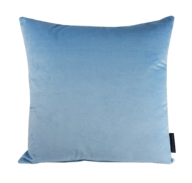 Sierkussen Velours Heaven Blue 5070 Blauw 45x45cm