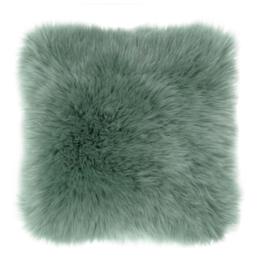 Sierkussen Long Haired Groen 45x45cm