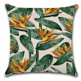 Sierkussen Jungle Mang Groen/Goud 45x45cm