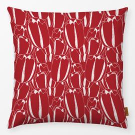 Sierkussen Tulpen Rood