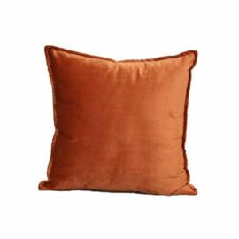 Sierkussen Luxury Velvet Oranje 45x45cm