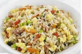 Portie gebakken rijst