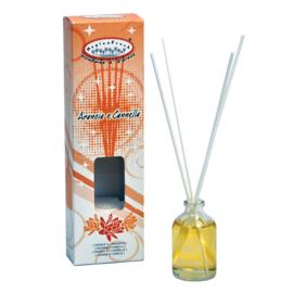 HygienFresh diffuser (geurstokjes) Orange & Cinnamon (kaneel)