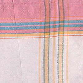 Kikoy towel white and pink