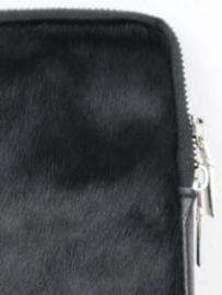 Telefoontasje Lava – Zwart vacht