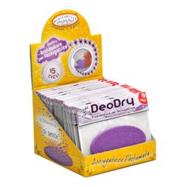 DeoDry plaquette voor in de droger