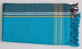 Kikoy towel Turquoise and blue