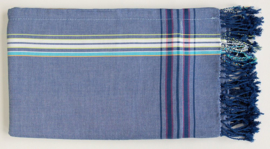Kikoy towel blue denim