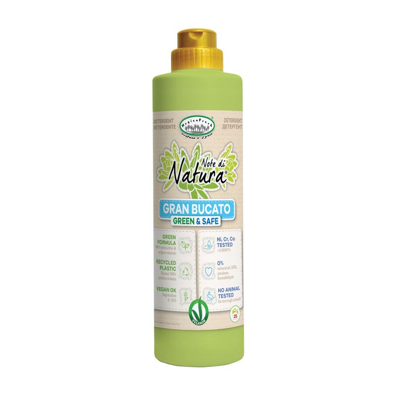 Note di Natura wasmiddel voor wit en gekleurde was, 750 ml