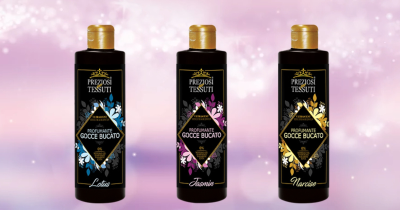 Preziosi wasparfum set van 3 geuren (235 ml)