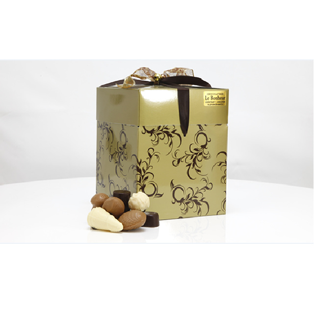 Luxe kadodoos Curl met 500, 750 of 1000 gram luxe bonbons