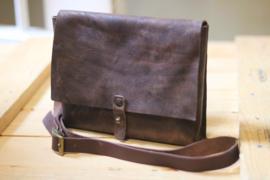 Simple larp bag dark brown