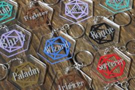 acrylic class keychains