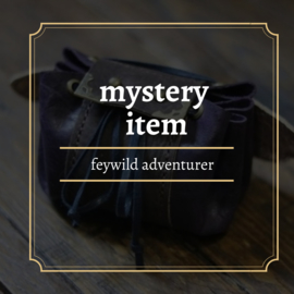 mystery feywild adventurer