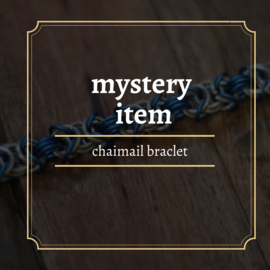 mystery chainmail Bracelet