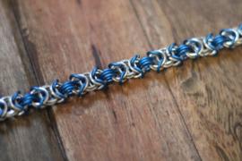 Bracelet silver blue