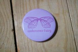 Undercover fairy button