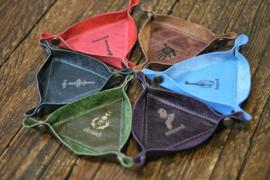 Custom triangel tray of offering