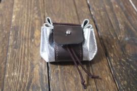 mini dicebag silver