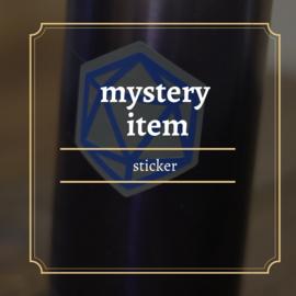 mystery Dice sticker size s