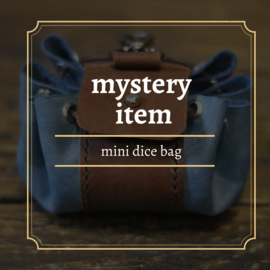 mystery mini dicebag