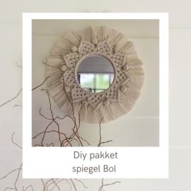 DIY spiegel Bol €22,25
