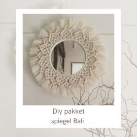 DIY spiegel Bali €24,95