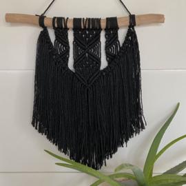 Wandkleed Black