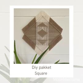 DIY pakket square 11,95