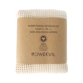 Bo Weevil - Groente- en fruitzakjes maat S/M/L