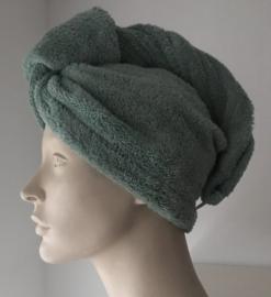 Bo Weevil - haarhanddoek mineral green