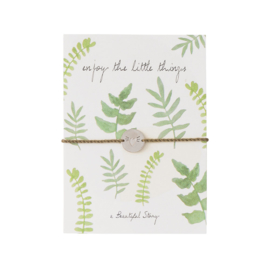 A beautiful story - Jewelry Postcard | Enjoy the little things