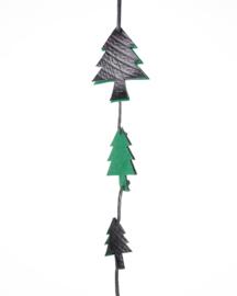 Ecowings kersthanger van gebruikte binnenbanden