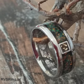 Ring Crematie As Zwart