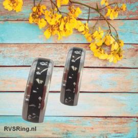 Relatieringen Yetstone | Zilver | Goud