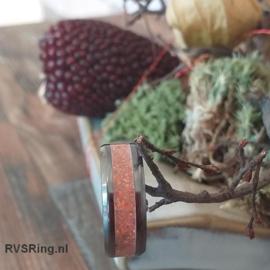 Bandring Roze Opaal