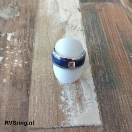 DNA Ring Lapis Lazuli