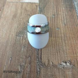 Moedermelkring Witte Opaal