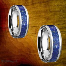 Relatieringen Lapis Lazuli | Goud