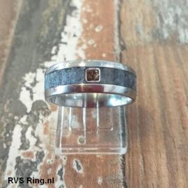 DNA Ring Blauwe Koraal