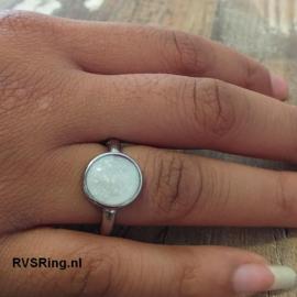 Moedermelk Ring Wit