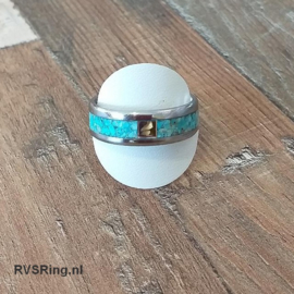 DNA Ring Turkoois