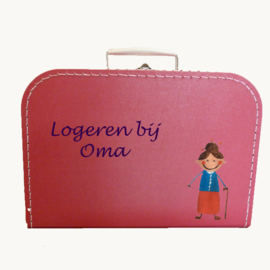 Koffertje oma logeerkoffertje