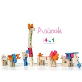 Luco constructiespeelgoed dieren